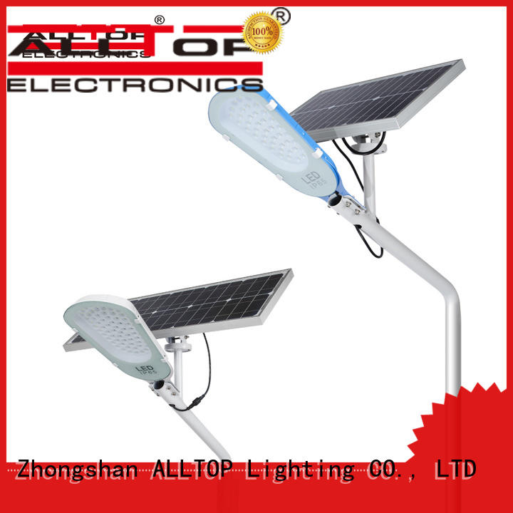 ALLTOP solar led street lamp free sample for playground