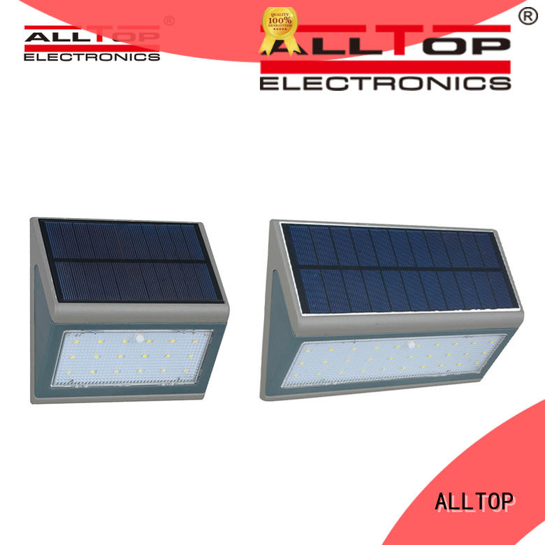 ALLTOP solar led wall lamp supplier for camping