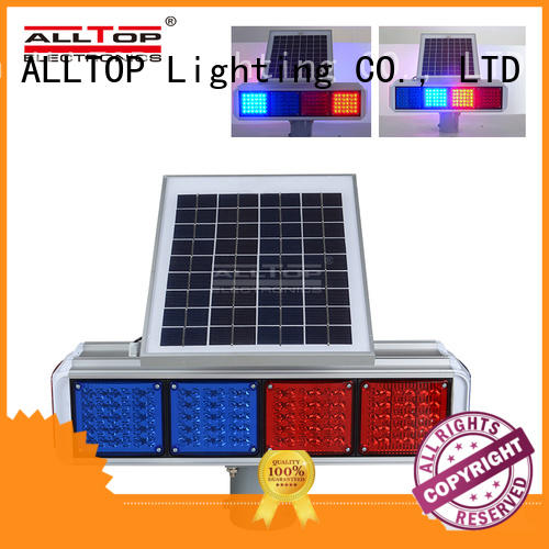 double side traffic light lamp intelligent for workshop