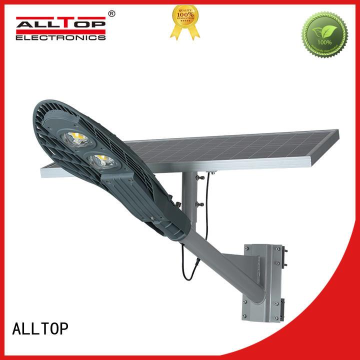 ALLTOP 9w solar street light latest design for lamp