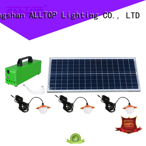 ALLTOP panel solar panel lighting system free sample for home