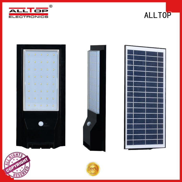 ALLTOP solar led wall pack supplier for street lighting