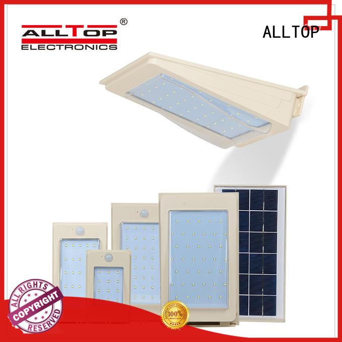 ALLTOP modern solar led wall pack portable for street lighting