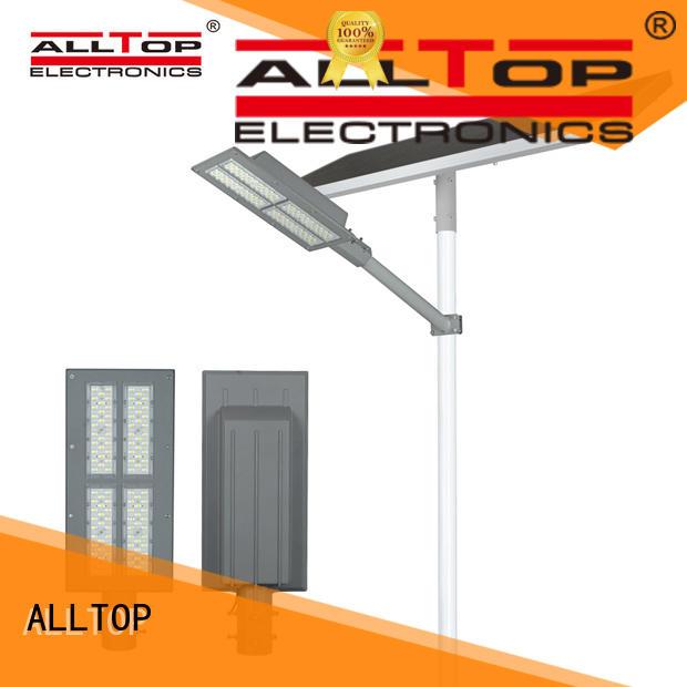 top selling solar street lighting system free sample for garden ALLTOP