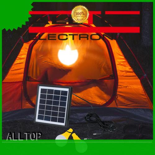 ALLTOP modern solar powered wall lamp certification highway lighting