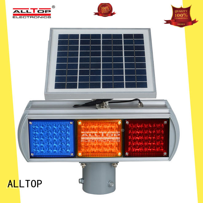 ALLTOP high quality solar traffic light series for safety warning