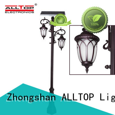 ALLTOP Brand outdoor solar waterproof solar pillar lights