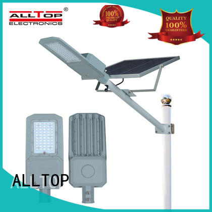 ALLTOP solar led street light supplier for outdoor yard