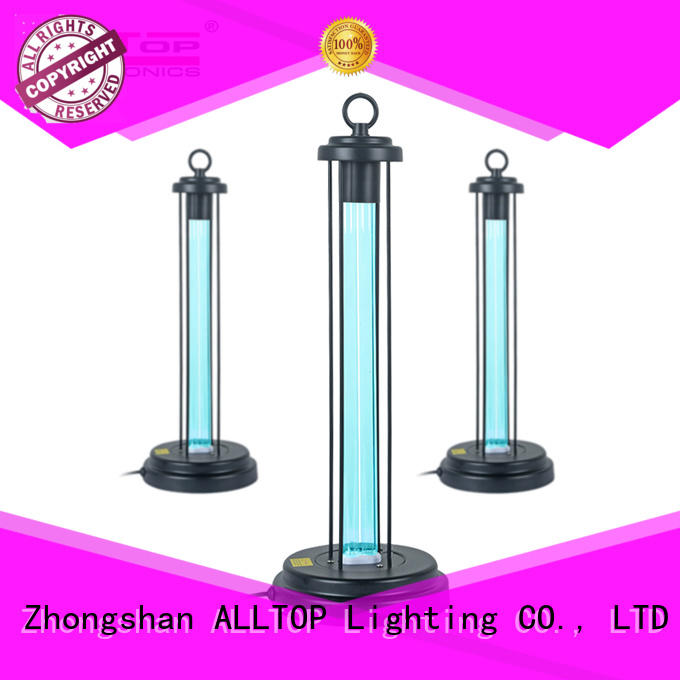 ALLTOP remote control sterilization light manufacturers for air disinfection