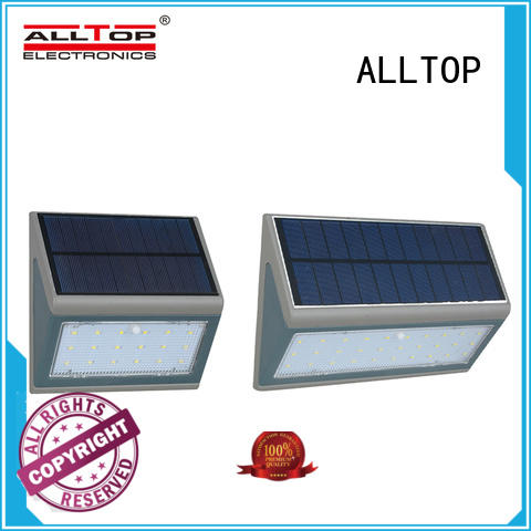 ALLTOP energy-saving solar wall sconce directly sale for garden