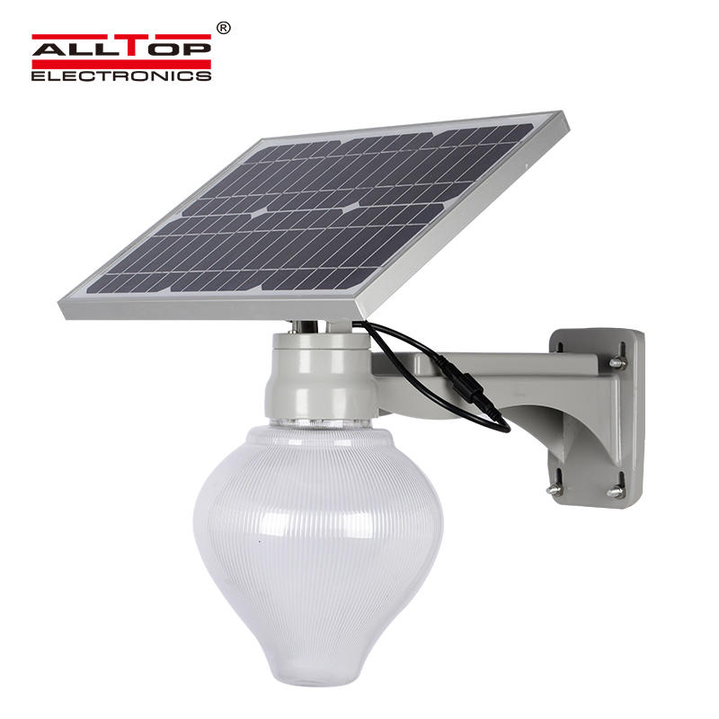 ALLTOP 12w solar street light popular for outdoor yard-1