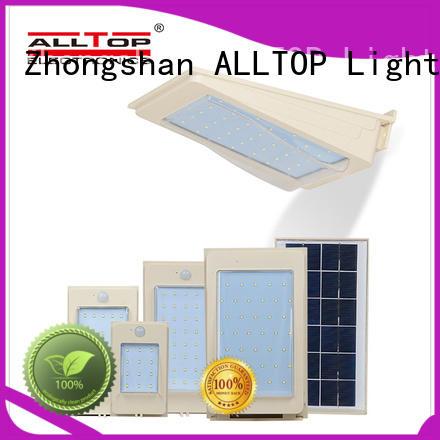 ALLTOP solar wall lights factory direct supply for street lighting
