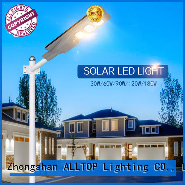 ALLTOP high-quality integrated solar light factory price for garden