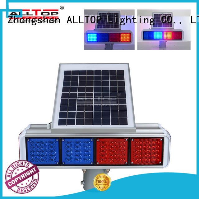 ALLTOP signal portable traffic lights intelligent for security