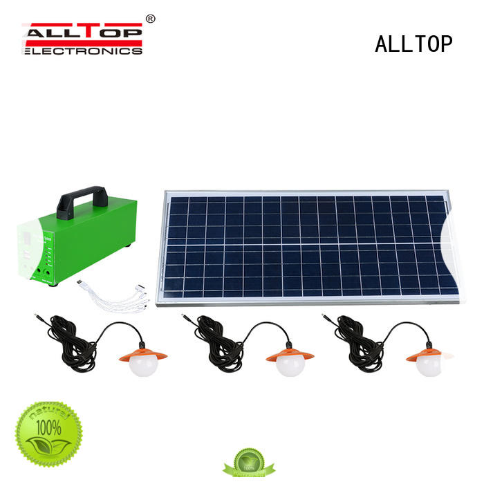 ALLTOP solar lighting system on-sale for home