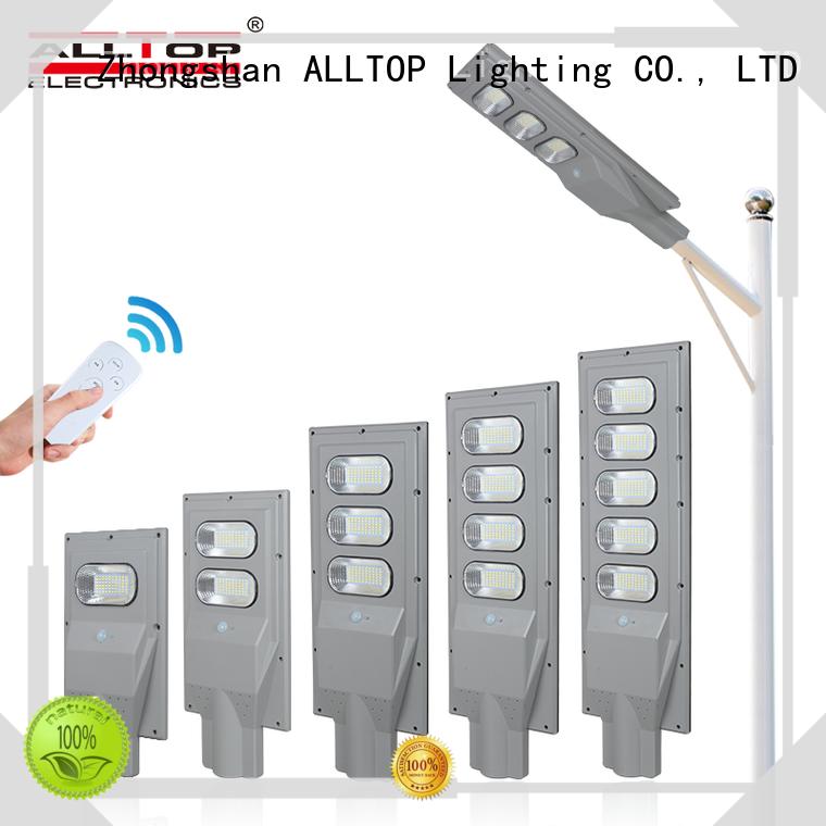 ALLTOP solar pole lights series for highway