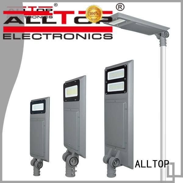 adjustable integrated solar street light factory price for road ALLTOP