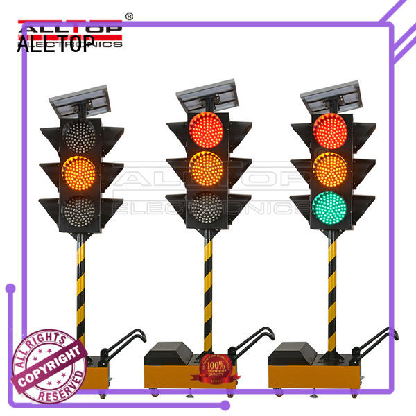 Traffic flash light mobile Intelligent solar traffic light solar safety warning light