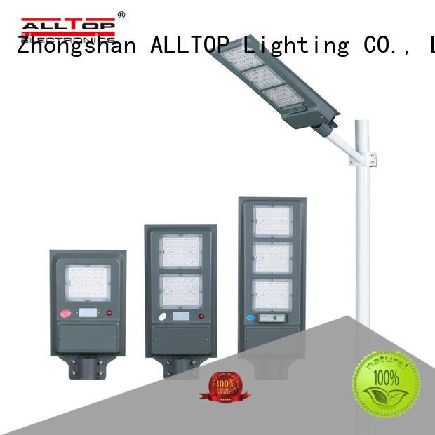 ALLTOP Energy saving high lumen integrated motion sensor  20W 40W 60W all in one solar led street light