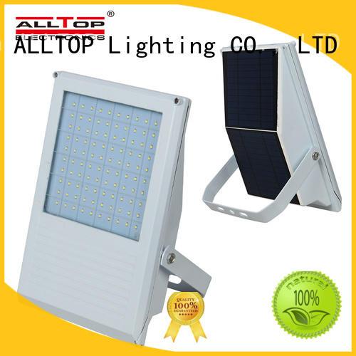 modern best solar flood lights aluminum alloy for stadium ALLTOP