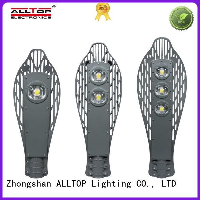 factory price 60w led street light supplier for park ALLTOP