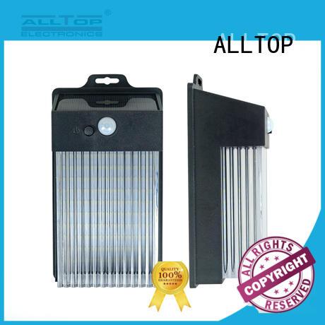 ALLTOP energy-saving solar pir wall light directly sale for garden