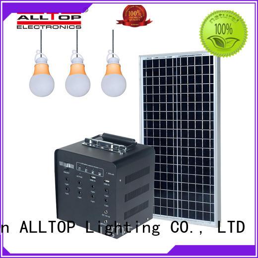 ALLTOP multi-functional solar powered lights oem directly sale indoor lighting