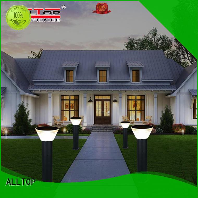 energy saving solar garden lamps main gate for decoration ALLTOP