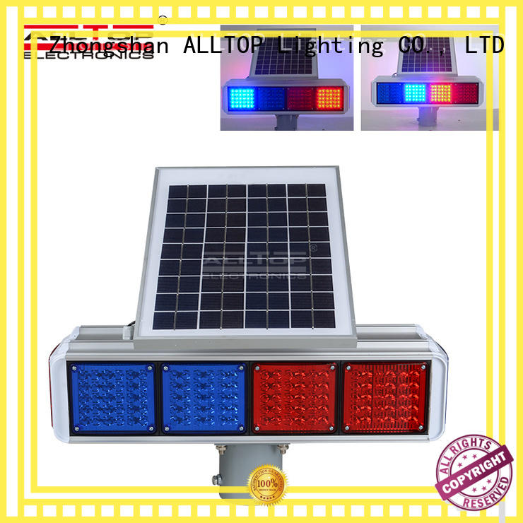ALLTOP low price solar traffic signal series for hospital