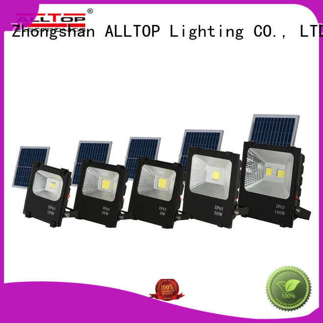 ALLTOP best solar flood lights supply for stadium