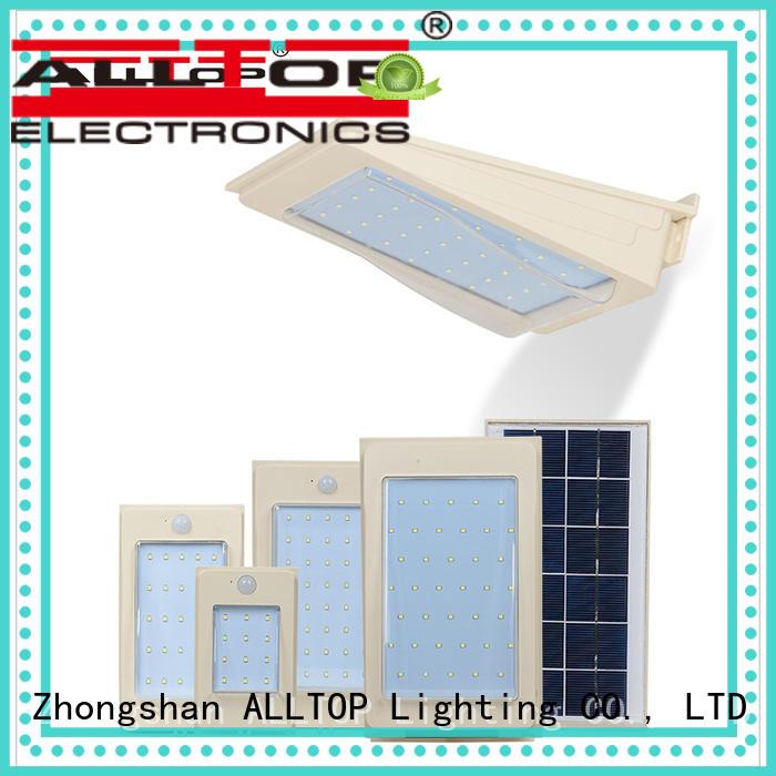 ALLTOP energy-saving solar wall lantern certification for party