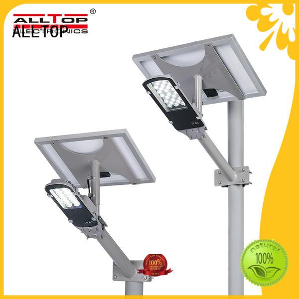 motion sensor china solar street light all-top for outdoor yard ALLTOP