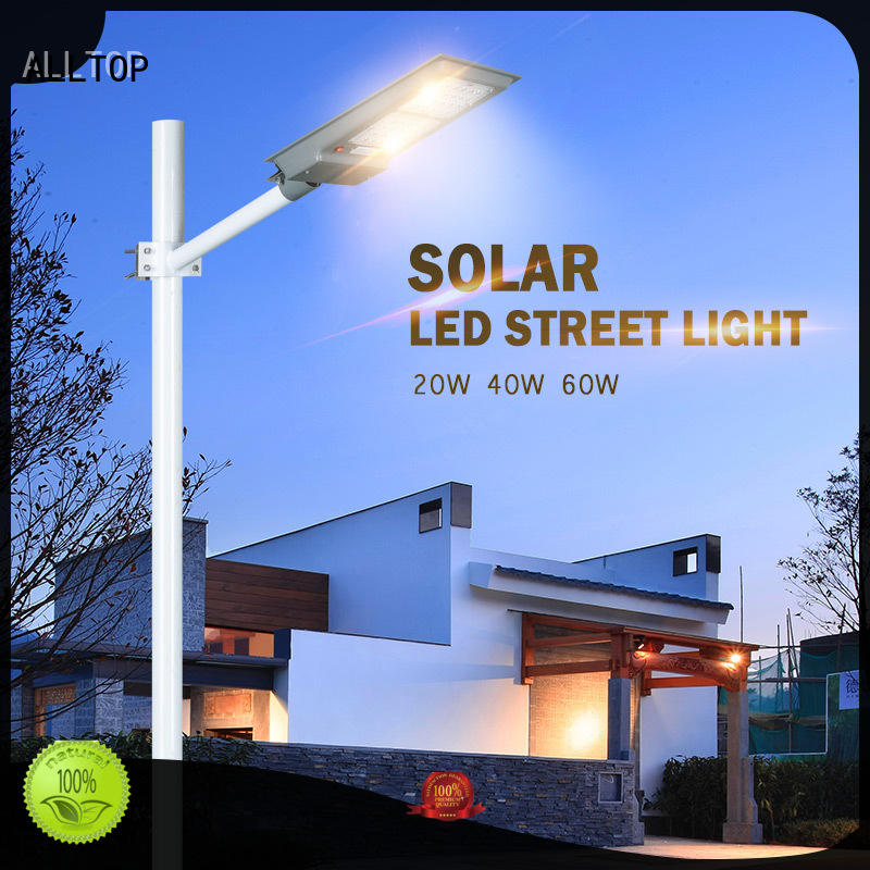ALLTOP flood integrated solar led street light long lifespan for highway