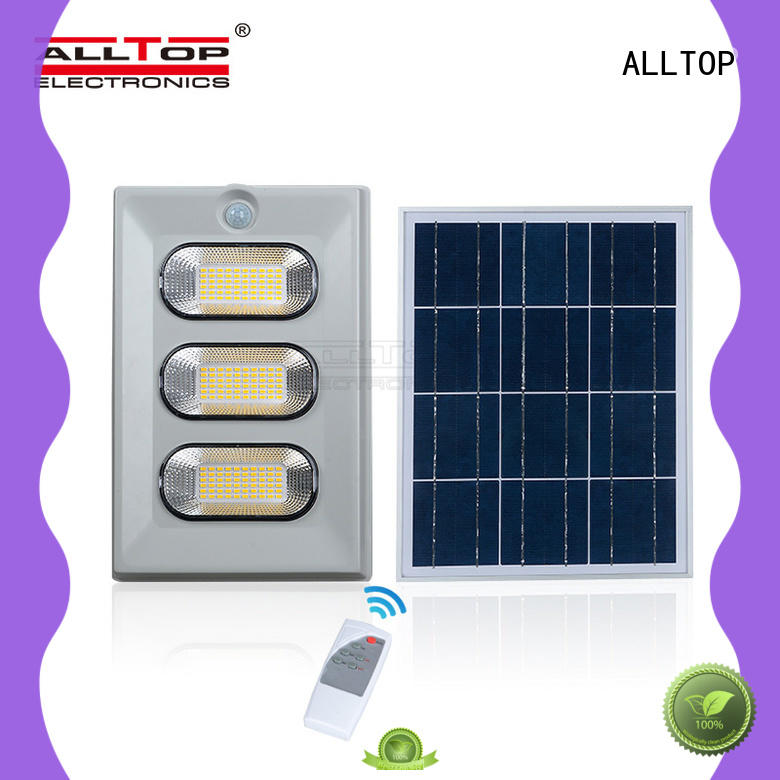 ALLTOP high quality solar floodlight popular for stadium