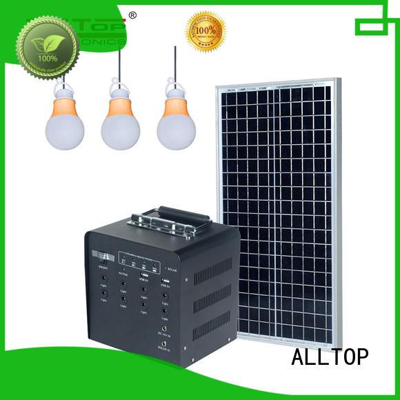 abs solar led lighting system by-bulk for battery backup