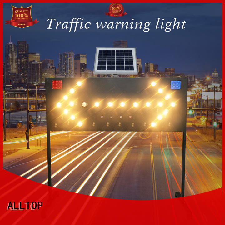 solar traffic signal road signs for factory ALLTOP