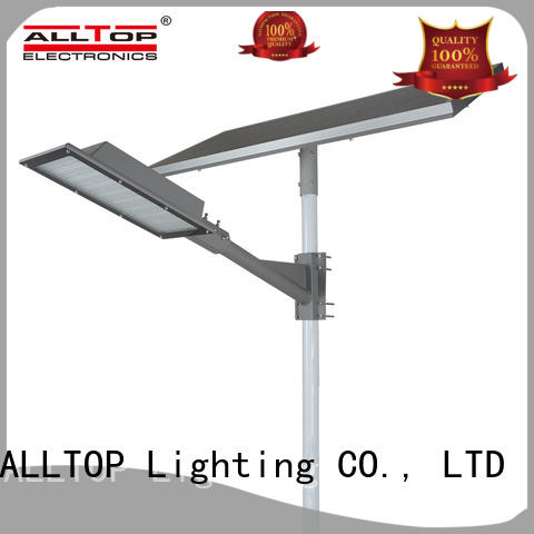 ALLTOP motion sensor 60w solar street led lighting shining rightness for lamp