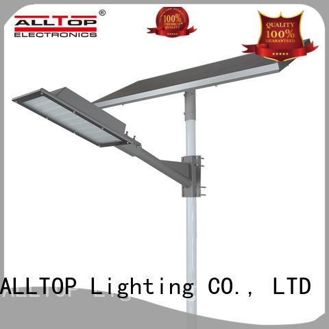 ALLTOP motion sensor 60w solar street led lighting shining rightness for lamp