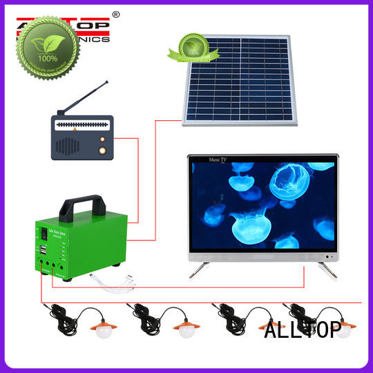 solar panel system mini for camping ALLTOP