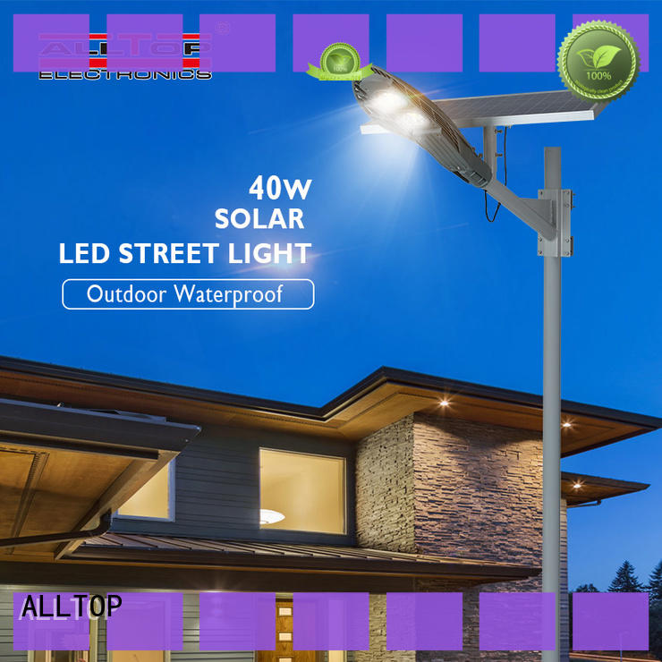 energy-saving solar street lamp free sample for playground