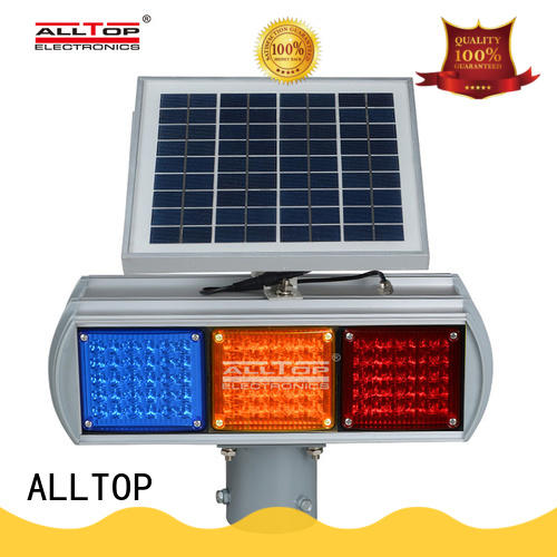 ALLTOP waterproof traffic light for sale barricade for safety warning