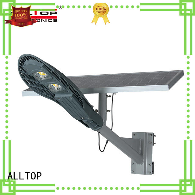 motion sensor solar street light project shining rightness for playground ALLTOP