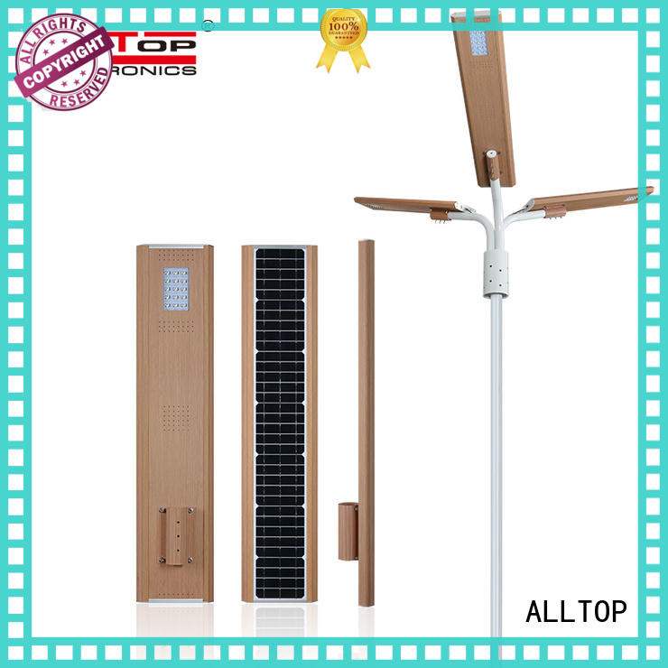 ALLTOP energy-saving all in one solar street light factory wholesale for highway