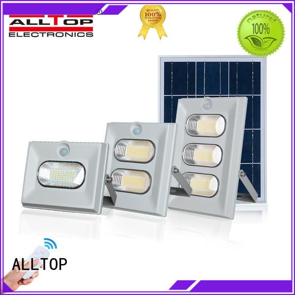 ALLTOP folding solar flood lamp ODM for stadium
