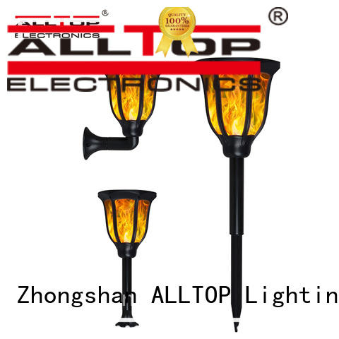 ALLTOP fancy design solar patio lights main gate for decoration
