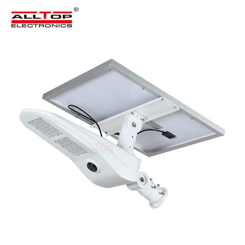 ALLTOP -Solar Light For Road | 50w Pir Motion Sensor Outdoor Waterproof Ip65 Led