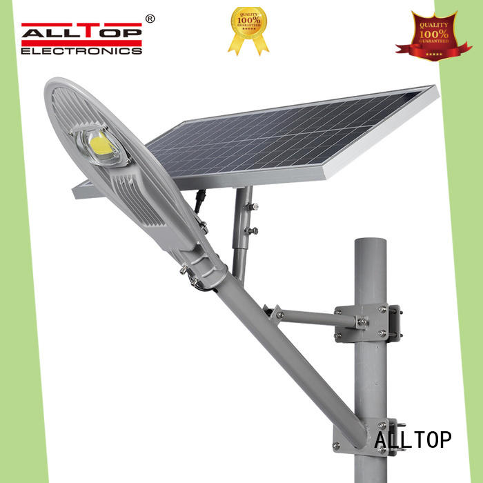 ALLTOP motion sensor 20w solar street light shining rightness for outdoor yard