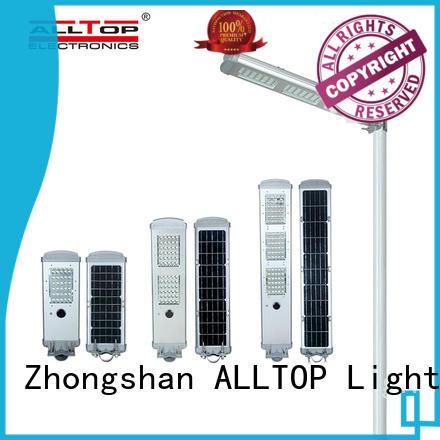 ALLTOP solar powered lights supplier for highway