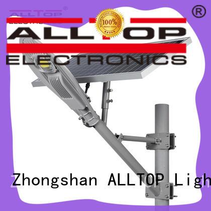 ALLTOP waterproof solar street lamp factory for landscape