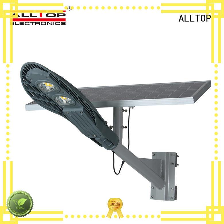 ALLTOP 30w solar street light directly sale for outdoor yard